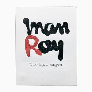 Photolithographie en Édition Limitée Rouge et Noire par Man Ray, 1975
