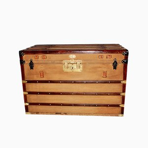 Antique French Trunk from Malle Edison