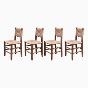Modell 19 Bauche Stühle von Charlotte Perriand, 1950er, 4er Set