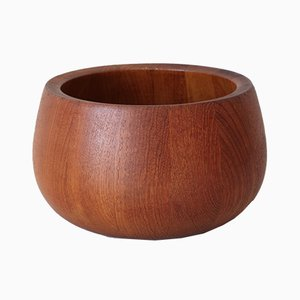 Mid-Century Danish Teak Bowl by Jens Harald Quistgaard for Dansk Design