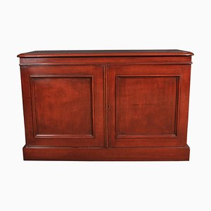 Small Antique Mahogany Sideboard, 1850s