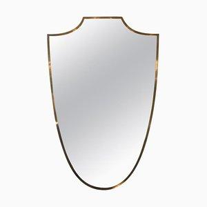 Specchio in ottone, Italia, anni '50