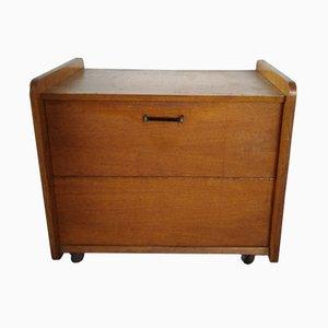 Mid-Century Oak Cabinet, 1960s
