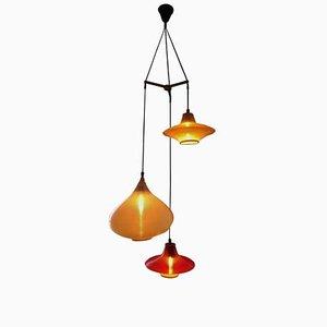 Lampe Cascade par Rotaflex pour Kartell, 1955