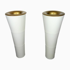 Lampes Torche Kaoyi ABS Vintage, 1980s, Set de 2