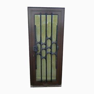 Brutalistische Tür, 1970er