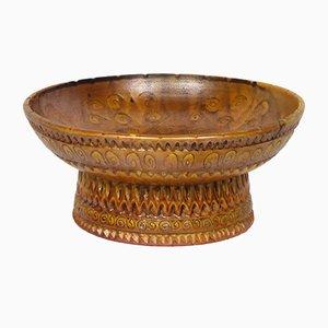 Cuenco de cerámica de Huguette Bessone, años 50
