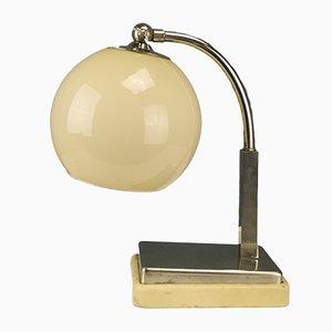 Deutsche Bauhaus Tastlicht Tischlampe von Marianne Brandt für Ruppel Werke, 1930er