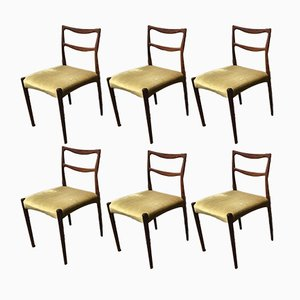 Chaises de Salle à Manger par H.W. Klein de Bramin, Set de 6