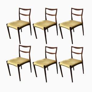 Esszimmerstühle von H.W. Klein für Bramin, 6er Set