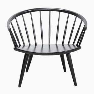Vintage Arka Armlehnstuhl aus Birke & Schichtholz von Yngve Ekström für Swedese, 1960er