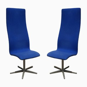 Vintage Chairs by Arne Jacobsen for Fritz Hansen, 1960s, Set of 2