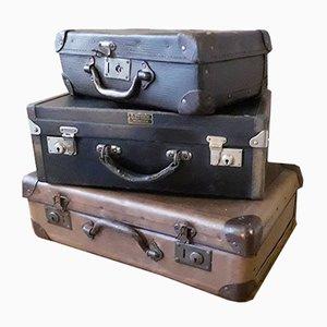 Kleine Vintage Reisekoffer, 3er Set