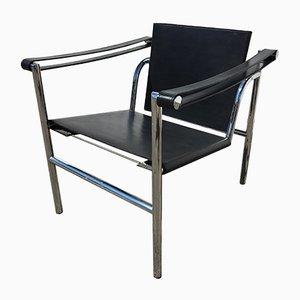 Sedia LC1 di Pierre Jeanneret per Le Corbusier Studio Paris, anni '20
