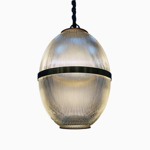 Antique Industrial Ceiling Lamp from Holophane