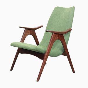 Armlehnstuhl aus Teak von Louis van Teeffelen für WéBé, 1960er