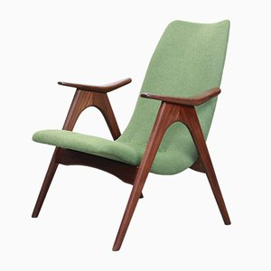 Teak Armchair by Louis van Teeffelen for WéBé, 1960s