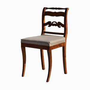 Antique Early Empire Swedish Dining Chair
