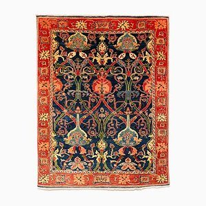 Arts & Crafts Style Turkish Hand Knotted Large Rug, 1980s