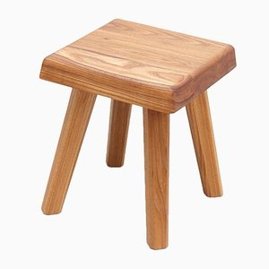 Elm Stool by Pierre Chapo for Creation Chapo, 2019