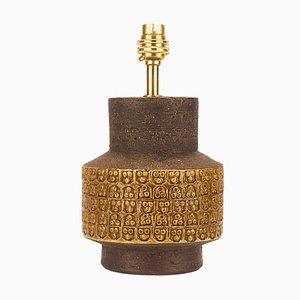 Italienische Trifoglio Tischlampe von Aldo Londi für Bitossi, 1960er