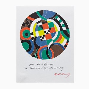 Geometric Abstraction Photolithography by Sonia Delaunay, 1979