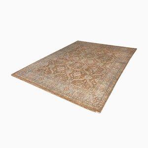 Großer brauner handgeknüpfter pakistanischer Teppich, 2000er
