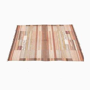 Finnish Flat-Weave Carpet by Laila Karttunen for Kiikan Mattokutomo, 1930s