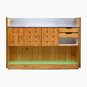 Mid-Century Pinewood Bar by Charlotte Perriand, 1960s