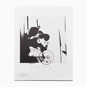 Lithography by Joseph Beuys for Bolaffiarte, 1974