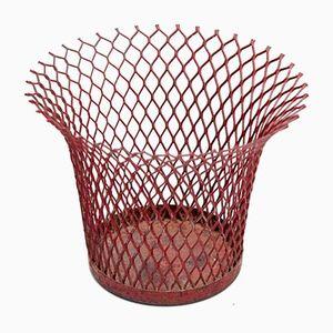 Enamelled Metal Baskets by Mathieu Matégot for Atelier Mategot, 1950s, Set of 2