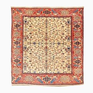 Antiker handgeknüpfter kaukasischer Leshgi Wollteppich, 2000er