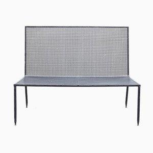 Bench by Mathieu Matégot for Atelier Matégot, 1950s