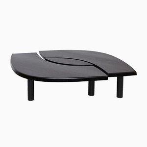 Schwarzer T22 Tisch von Pierre Chapo für Chapo Creation, 2019