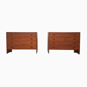 RY16 Chest of Drawers by Hans J. Wegner for Ry Møbler, 1950s, Set of 2