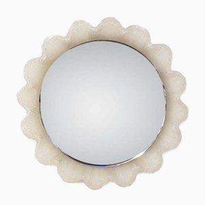 Miroir en Forme de Fleur Rétro-Éclairé Vintage, 1970s