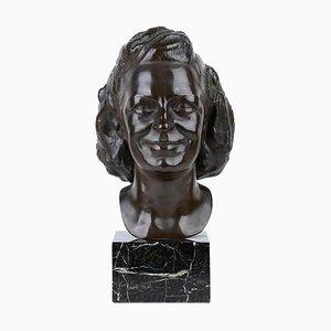 Scultura in bronzo di Attilio Torresini, anni '50