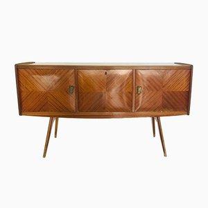 Italienisches Mid-Century Sideboard aus Holz, 1960er