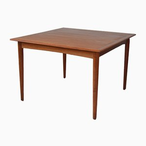Danish Teak Extendable Dining Table from Soro Stole, 1950s