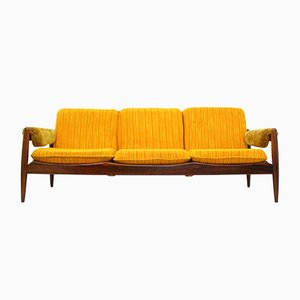Skandinavisches modernes Vintage Sofa aus Palisander, 1970er
