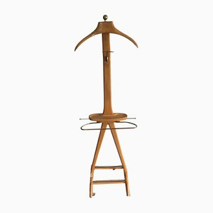 Mid-Century Italian Beech Rack by Ico & Luisa Parisi for Fratelli Reguitti, 1950s