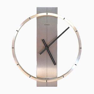 Modernist German Aluminum Clock from Kienzle International, 1960s