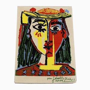 Tappeto Picasso di Desso, anni '60