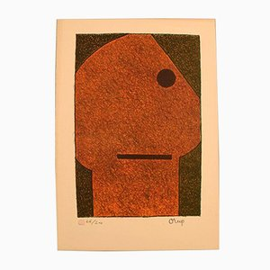Swedish Color Lithography by Bengt Orup, 1960s