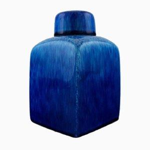 Teedose aus Fayence von Paul Milet für Sevres, 1930er