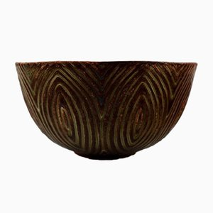 Stoneware Model 20720 Bowl by Axel Salto for Royal Copenhagen, 1940s