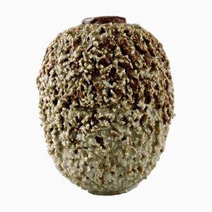 Vase Chamotte Hedgehog Vintage par Gunnar Nylund pour Rörstrand