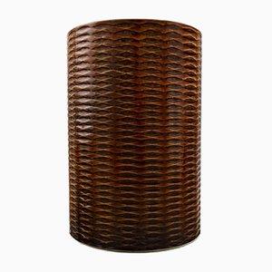 Ceramic Domino Vase by Stig Lindberg for Gustavsberg, 1950s