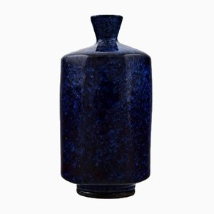 Vase Mid-Century en Céramique par Berndt Friberg, Suède