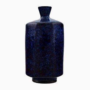 Vaso Mid-Century in ceramica di Berndt Friberg, Svezia